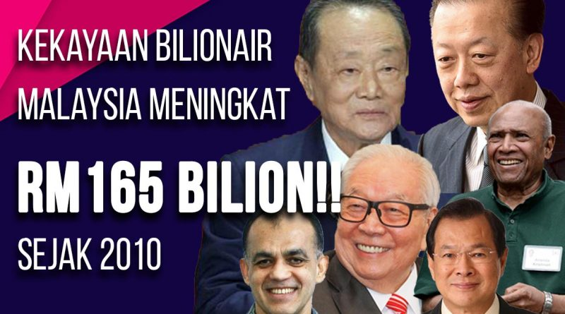 Kekayaan bilionair malaysia| ekonomi rakyat