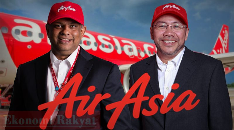Tony Fernendes dividen AirAsia | Ekonomi Rakyat