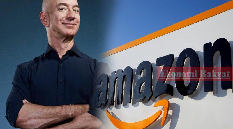 Kekayaan Jeff Bezos Meningkat ke Paras Tertinggi Kepada RM736 Bilion