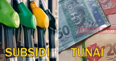subsidi minyak tunai